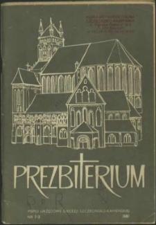 Prezbiterium. 1987 nr 1-3