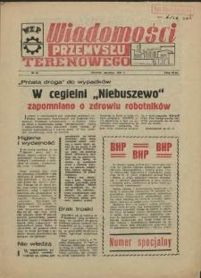 Wiadomości Przemysłu Terenowego : organ rad zakładowych przedsiębiorstw przemysłu terenowego woj. szczecińskiego. 1956 nr 14