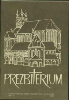 Prezbiterium. 1987 nr 4-6