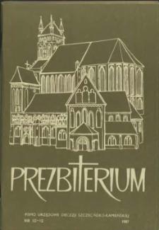 Prezbiterium. 1987 nr 10-12