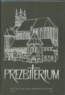 Prezbiterium. 1989 nr 9-10