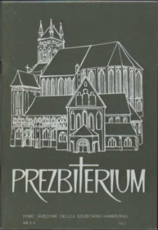 Prezbiterium. 1990 nr 3-4
