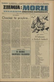 Ziemia i Morze : tygodnik społeczno-kulturalny. R.1, 1956 nr 23
