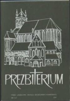 Prezbiterium. 1991 nr 1-2