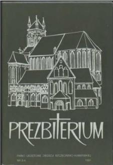 Prezbiterium. 1991 nr 3-4