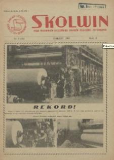 Skolwin : pismo pracowników Szczecińskich Zakładów Celulozowo-Papierniczych. R.3, 1958 nr 3