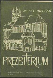 Prezbiterium. 1992 nr 11-12