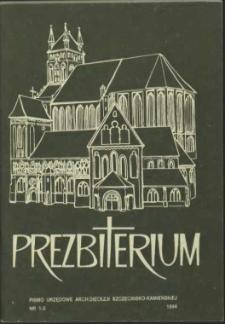 Prezbiterium. 1994 nr 1-2