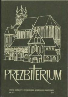 Prezbiterium. 1994 nr 3-4