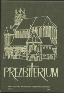 Prezbiterium. 1994 nr 5-6