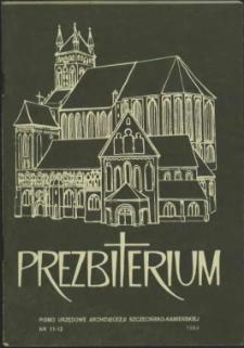 Prezbiterium. 1994 nr 11-12