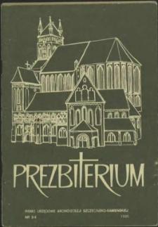 Prezbiterium. 1995 nr 3-4