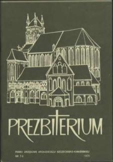 Prezbiterium. 1995 nr 7-8