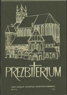 Prezbiterium. 1995 nr 9-10
