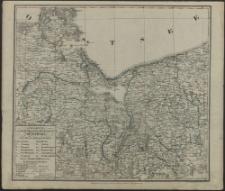 Charte vom Königlich Preussischen Regierungsbezirk Stettin nach seiner Einteilung in 13 Kreise