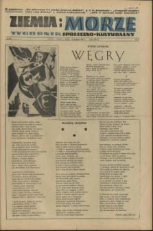 Ziemia i Morze : tygodnik społeczno-kulturalny. R.1, 1956 nr 26