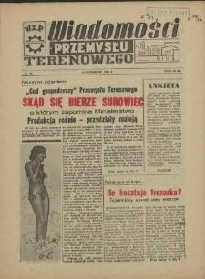Wiadomości Przemysłu Terenowego : organ rad zakładowych przedsiębiorstw przemysłu terenowego woj. szczecińskiego. 1957 nr 28
