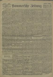 Pommersche Zeitung : organ für Politik und Provinzial-Interessen. 1900 Nr. 257
