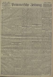 Pommersche Zeitung : organ für Politik und Provinzial-Interessen. 1900 Nr. 262