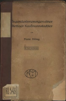 Jugenderinnerungen einer Stettiner Kaufmannstochter