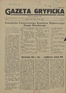 Gazeta Gryficka. R.1, 1952 nr 4