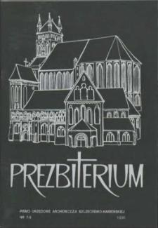 Prezbiterium. 1996 nr 7-8