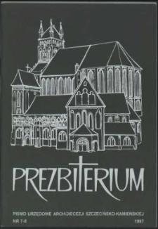 Prezbiterium. 1997 nr 7-8