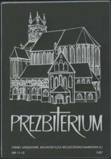 Prezbiterium. 1997 nr 11-12