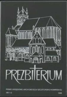 Prezbiterium. 1998 nr 1-2