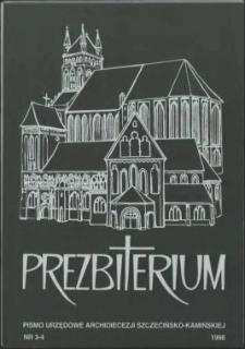 Prezbiterium. 1998 nr 3-4
