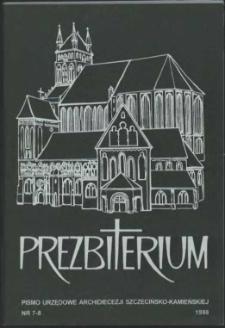 Prezbiterium. 1998 nr 7-8