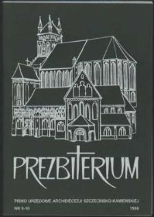 Prezbiterium. 1998 nr 9-10