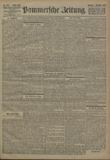 Pommersche Zeitung : organ für Politik und Provinzial-Interessen. 1900 Nr. 285