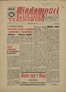 Wiadomości Przemysłu Terenowego : organ rad zakładowych przedsiębiorstw przemysłu terenowego woj. szczecińskiego. 1958 nr 35