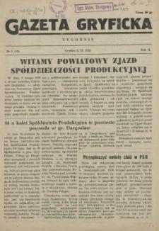 Gazeta Gryficka. R.2, 1953 nr 1