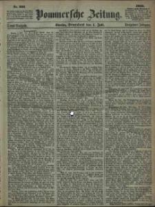Pommersche Zeitung : organ für Politik und Provinzial-Interessen. 1865 Nr. 302