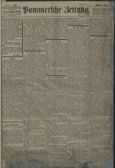 Pommersche Zeitung : organ für Politik und Provinzial-Interessen. 1901 Nr. 1