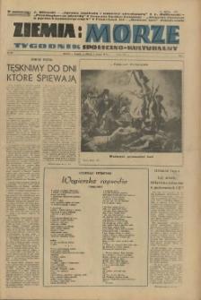 Ziemia i Morze : tygodnik społeczno-kulturalny. R.1, 1956 nr 29