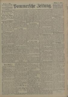 Pommersche Zeitung : organ für Politik und Provinzial-Interessen. 1905 Nr. 52