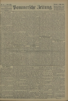 Pommersche Zeitung : organ für Politik und Provinzial-Interessen. 1905 Nr. 55 Blatt 1