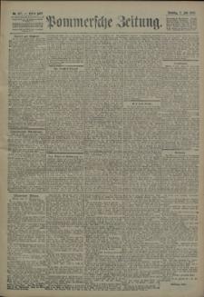 Pommersche Zeitung : organ für Politik und Provinzial-Interessen. 1906 Nr. 157 Blatt 1