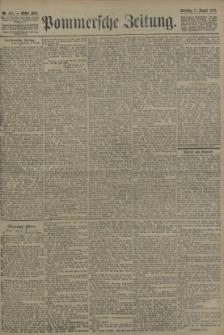 Pommersche Zeitung : organ für Politik und Provinzial-Interessen. 1906 Nr. 184
