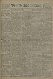 Pommersche Zeitung : organ für Politik und Provinzial-Interessen. 1906 Nr. 197