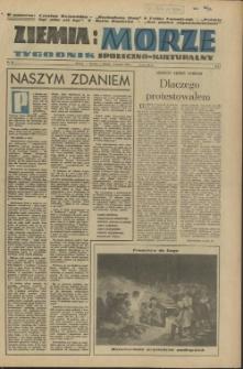Ziemia i Morze : tygodnik społeczno-kulturalny. R.1, 1956 nr 30