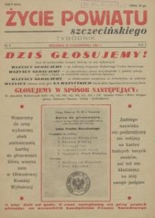 Życie Powiatu Szczecińskiego. R.1, 1952 nr 8