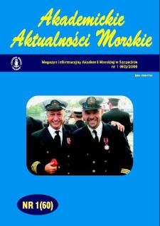 Akademickie Aktualności Morskie : Magazyn Informacyjny Akademii Morskiej w Szczecinie. 2009, 1(60)