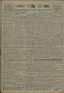 Pommersche Zeitung : organ für Politik und Provinzial-Interessen. 1906 Nr. 235 Blatt 1