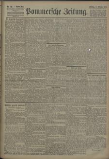 Pommersche Zeitung : organ für Politik und Provinzial-Interessen. 1906 Nr. 241 Blatt 1