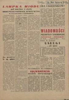 Wiadomości Przemysłu Terenowego : organ rad zakładowych przedsiębiorstw przemysłu terenowego woj. szczecińskiego. 1960 nr 53