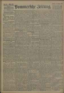 Pommersche Zeitung : organ für Politik und Provinzial-Interessen. 1906 Nr. 256
